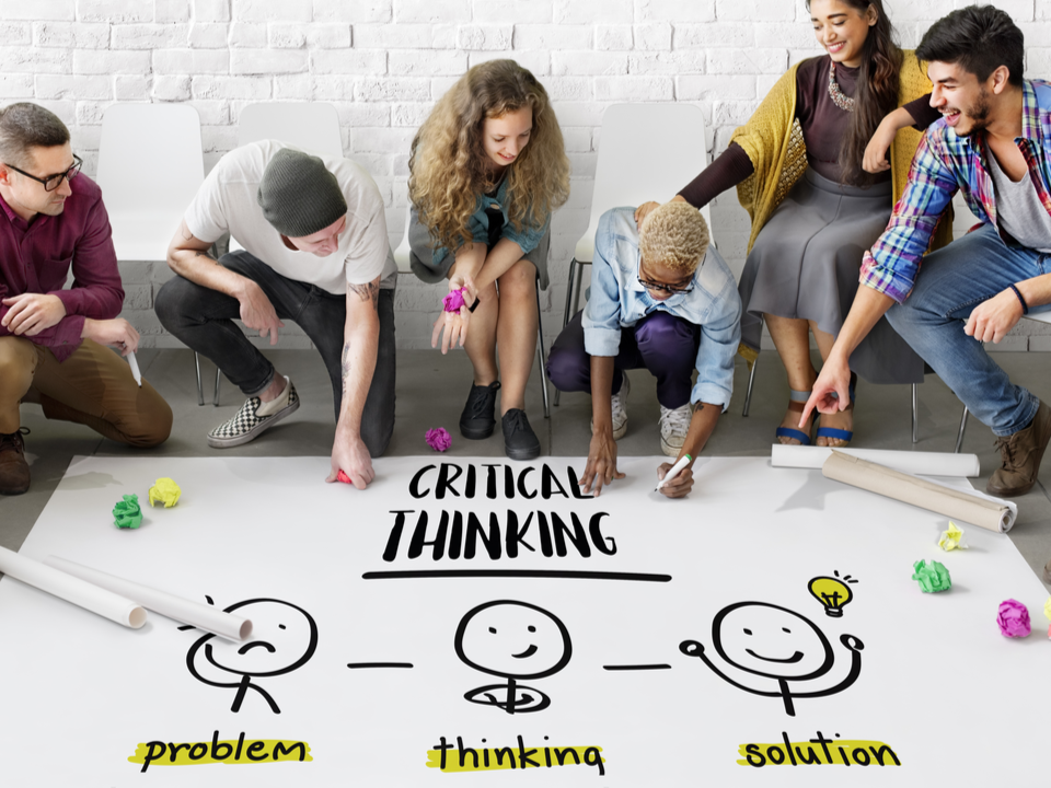 4 steps for how to teach #criticalthinking