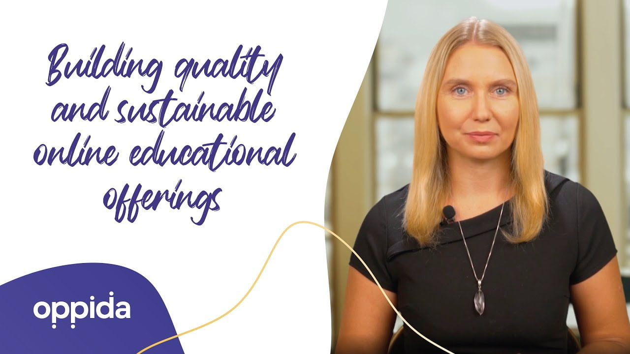 Building quality and sustainable educational offerings